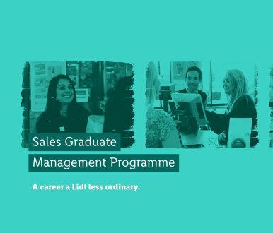 Job image for: Sales Graduate Management Programme