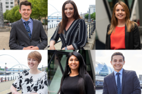 Article featured image for: Meet the graduates turned tax specialists on Qubic's Newcastle based graduate programme