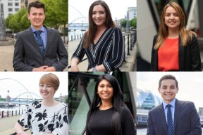 Article: Meet the graduates turned tax specialists on Qubic's Newcastle based graduate programme